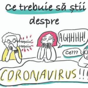 Coronavirus… pe înțelesul copiilor